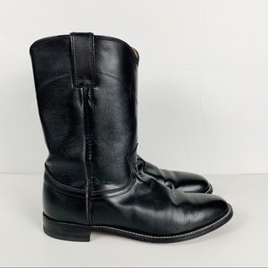 Justin Boots Cora Roper Classic Leather Western